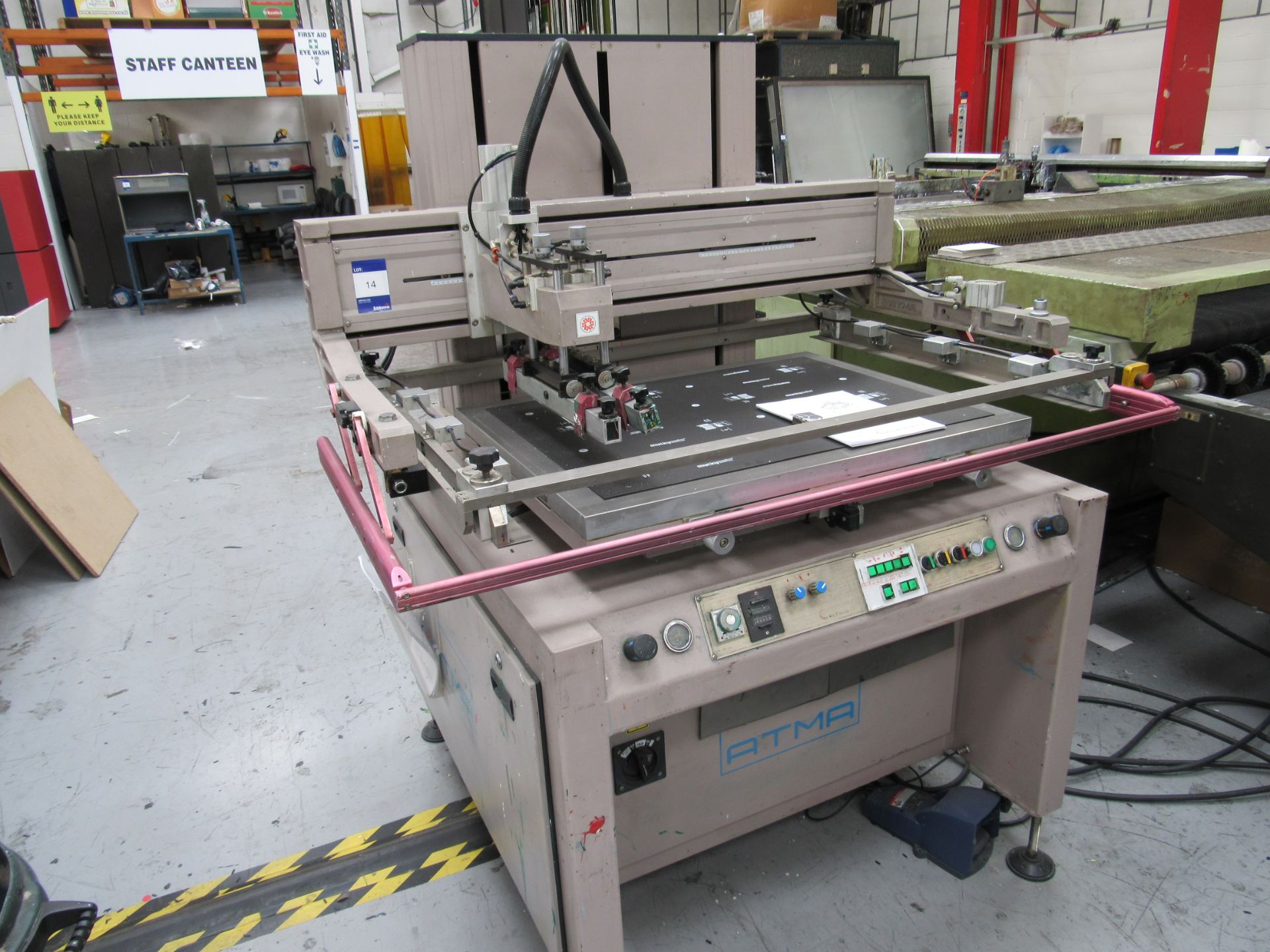 ATMA AT-80P Screen Printer 700x900mm, Serial Number 950301502 - Image 7 of 7