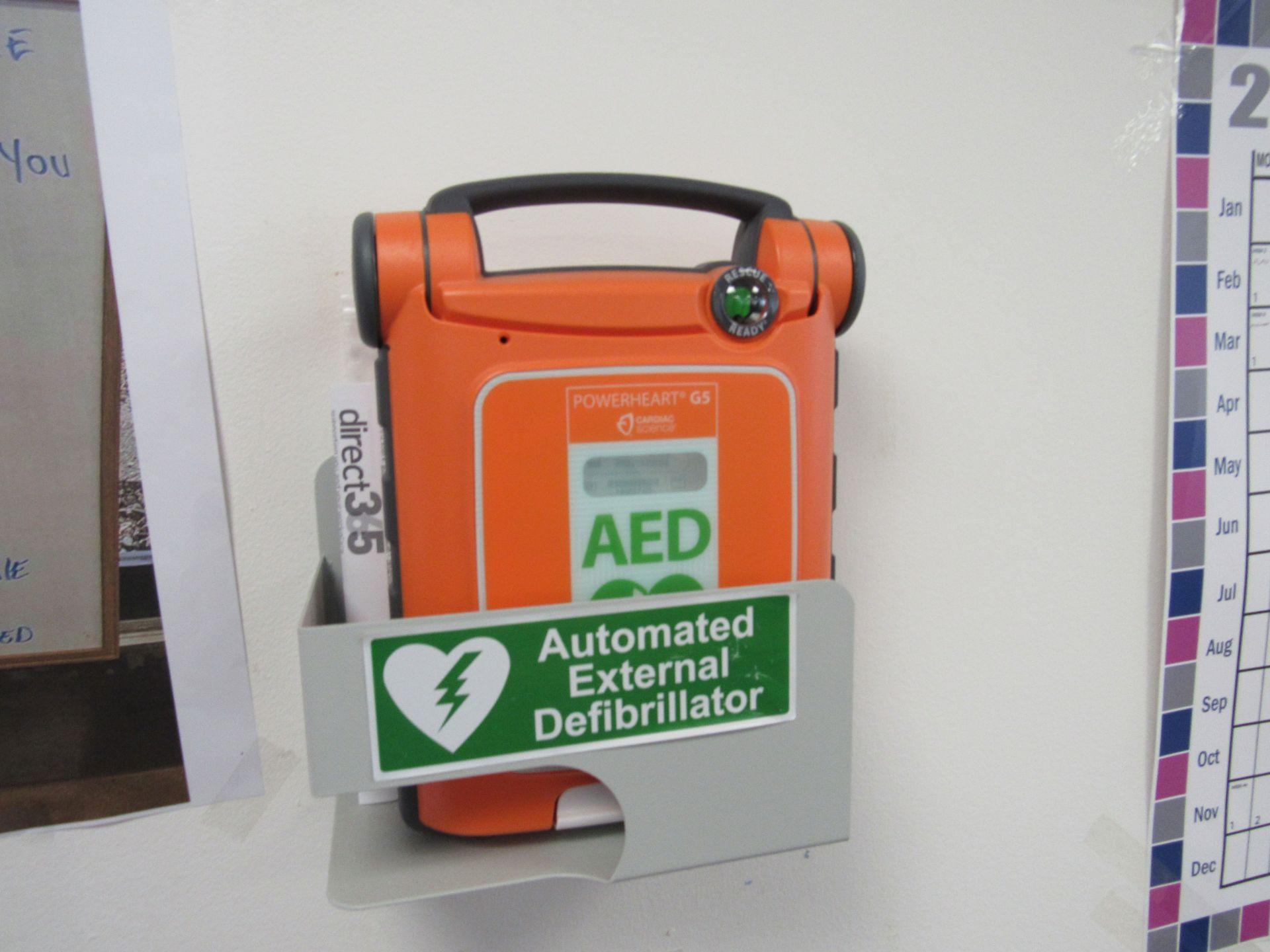 PowerHeart G5 automatic external defibrillator, Serial Number D00000042311