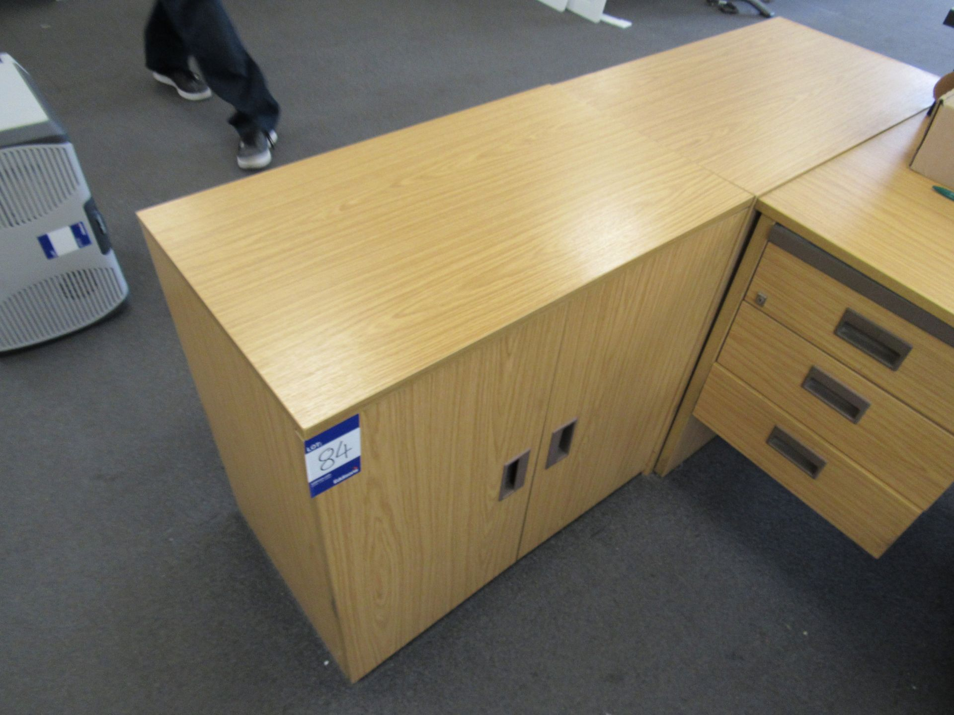 4 x Assorted low level double door cupboards (Approximately 750 x 710 x 450), to first floor office - Image 3 of 4