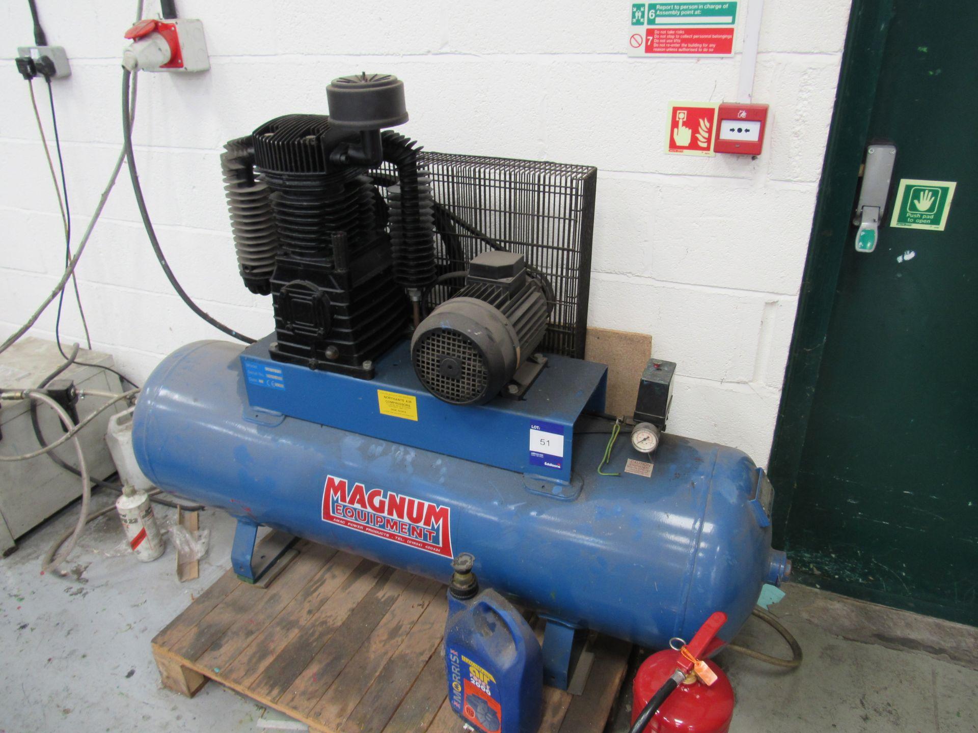 Magnum SX27/240 Receiver Mounted Compressor Serial Number 8745, 1995