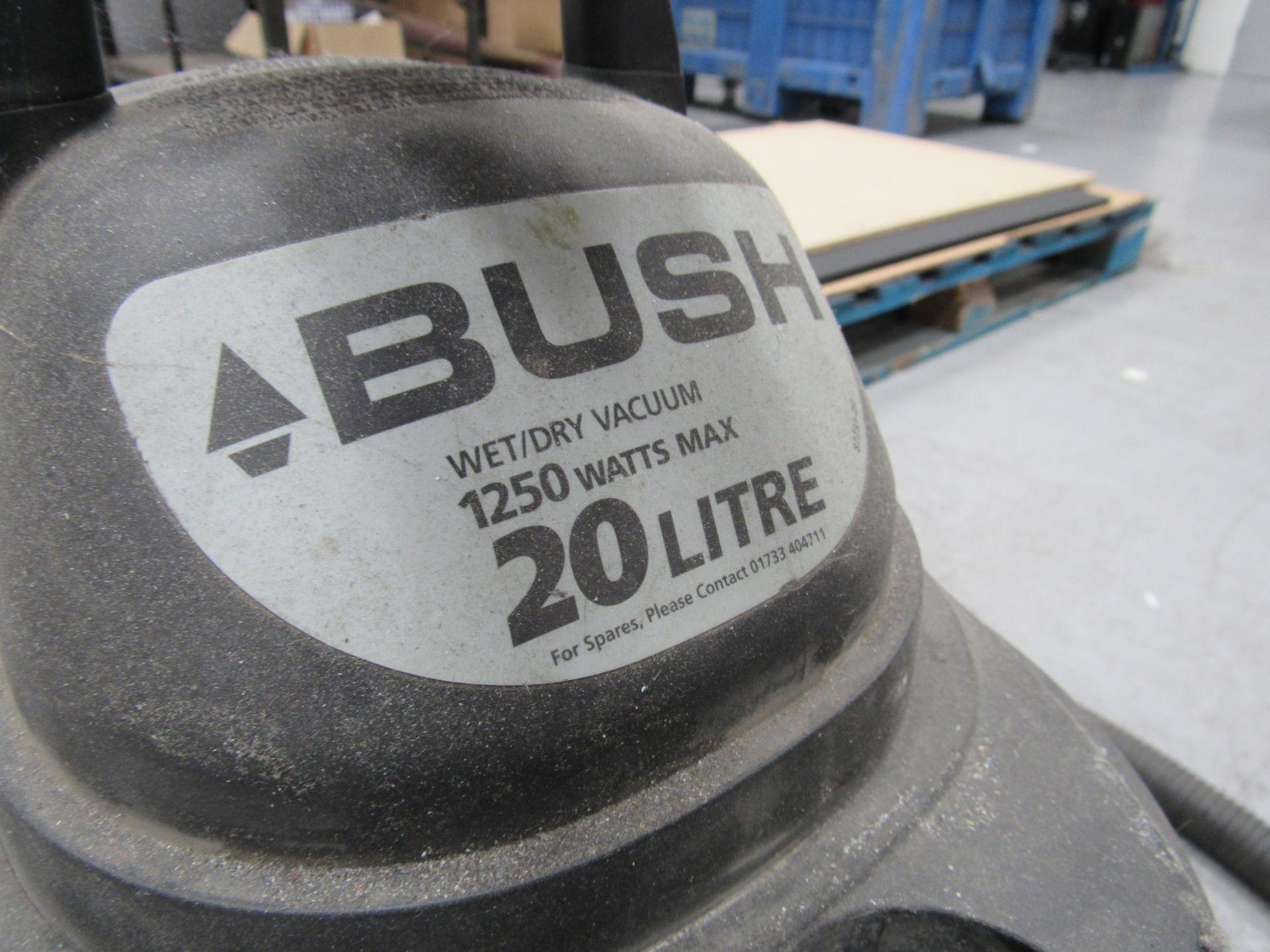 Bush 1250w, 20 Litre Wet/Dry Vacuum - Image 3 of 3