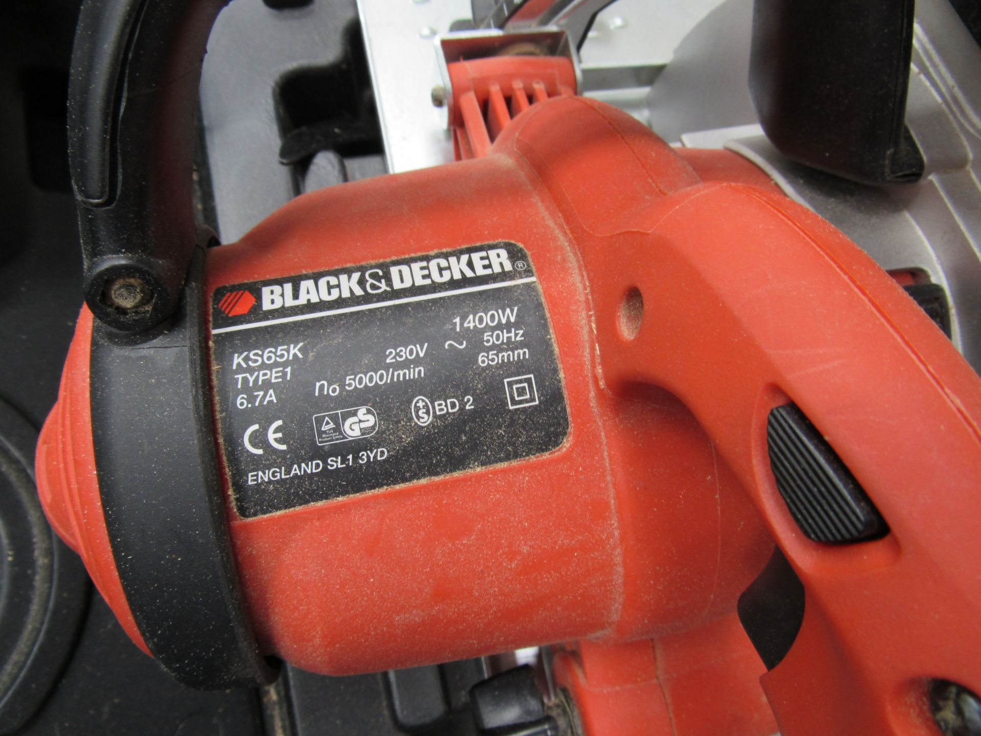 Black and Decker KS65K 1400w - Image 3 of 3
