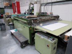 Sias Print Serifast 117.180 Screen Printer Serial