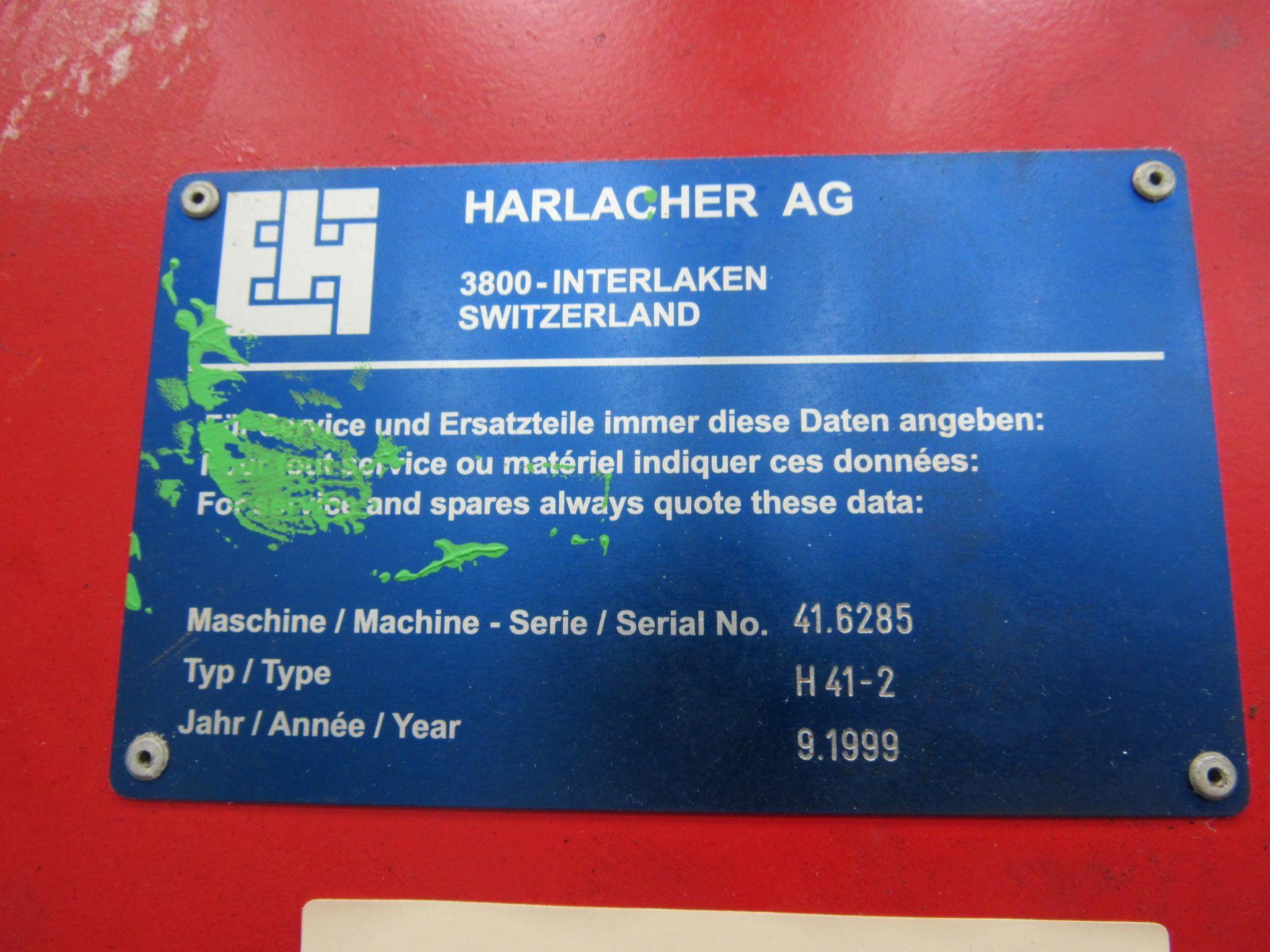 Harlacher Serial Number 416285 H41-2 Screen Frame Coater - Image 3 of 3