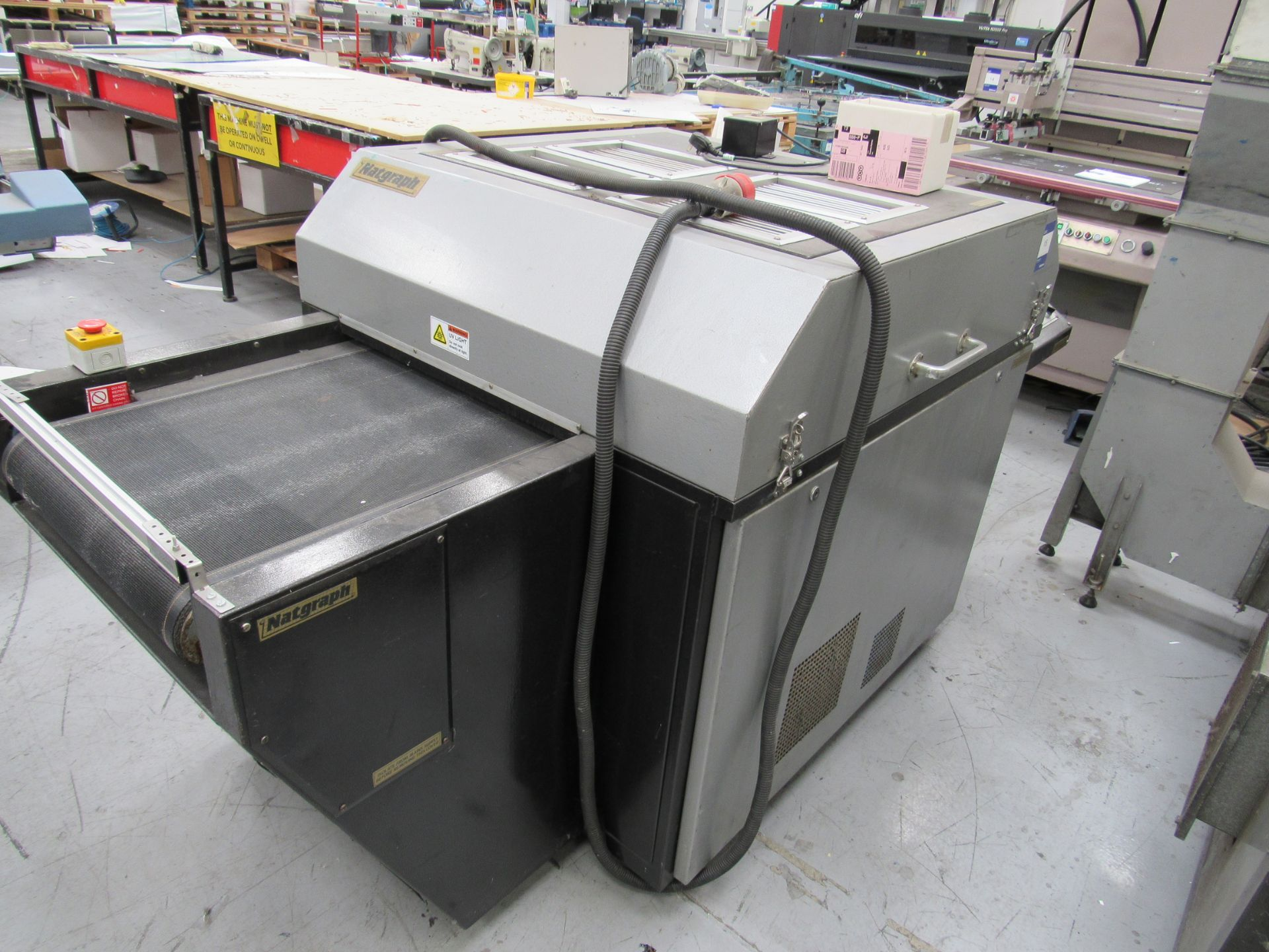 Natgraph UV Drier with Belt, 6985 Hours, Lamp Changed at 6795 Hours - Image 3 of 4