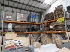 3 Bays Warehouse Racking, 5 End Frames, 12 Cross B
