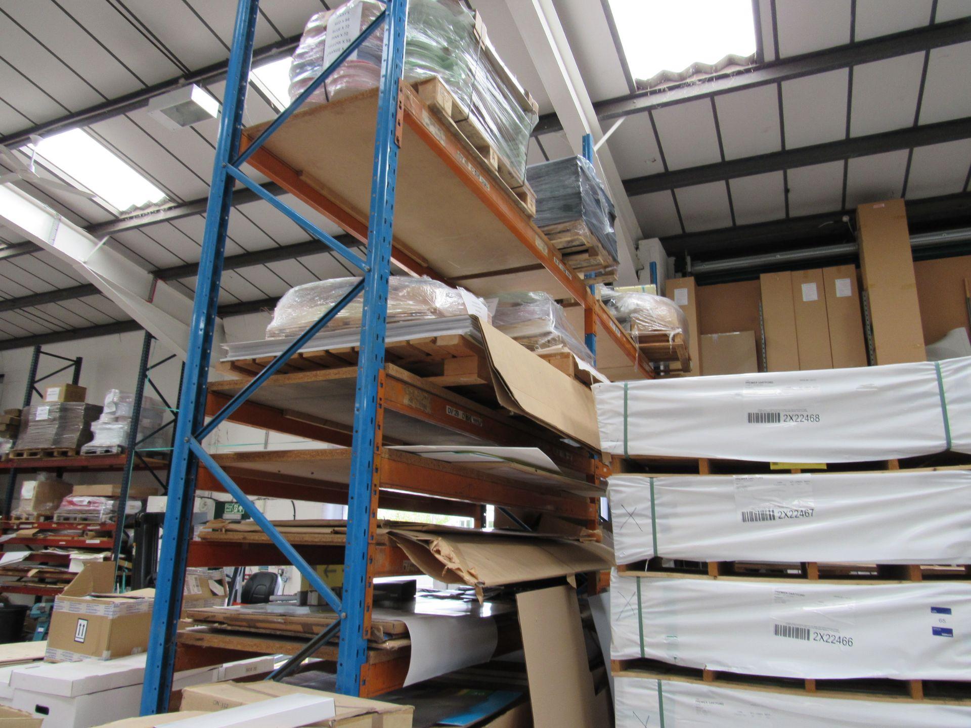 2 Bays Warehouse Racking, 3 End Frames, 22 Cross Beams - Image 3 of 3