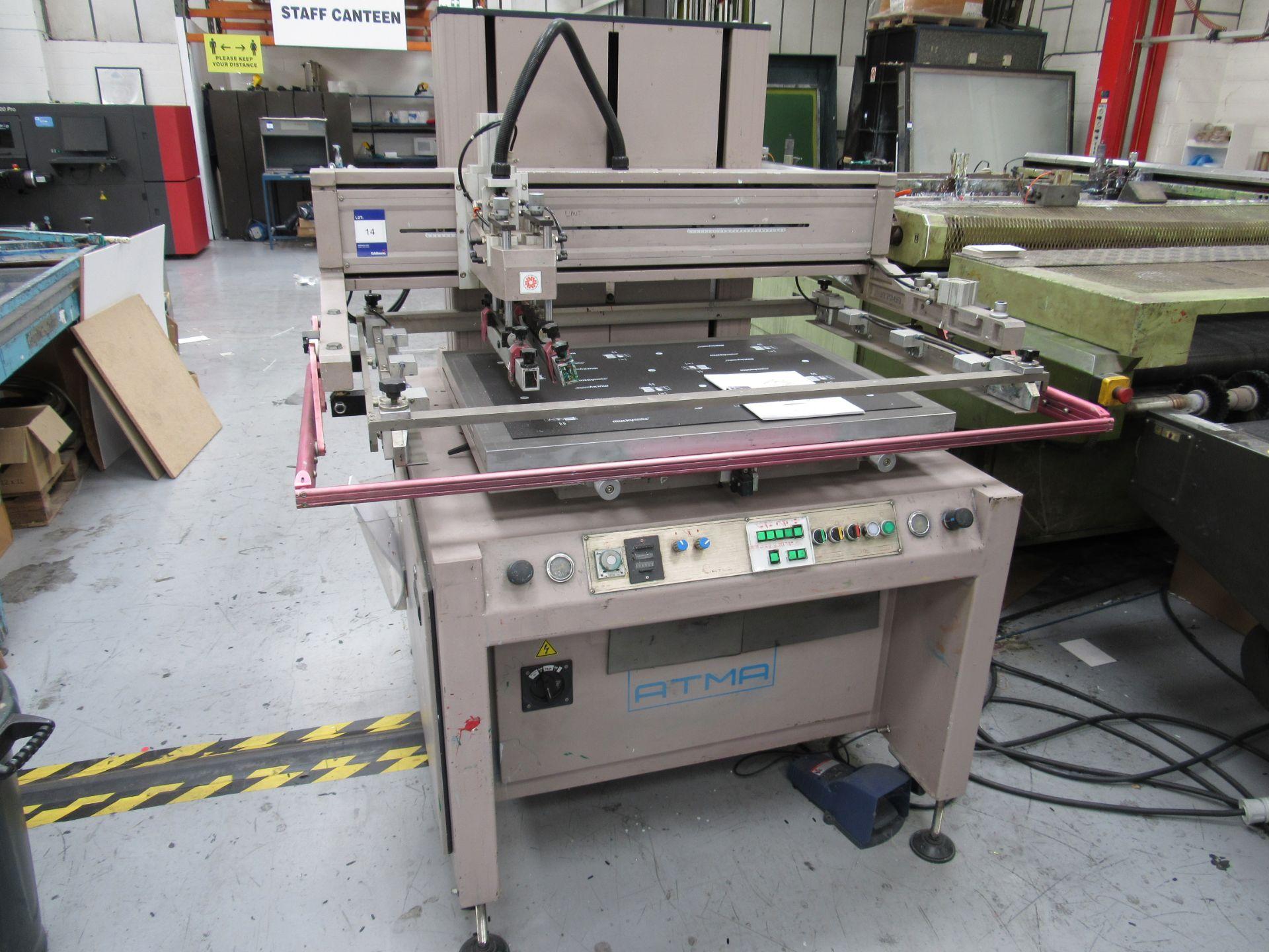 ATMA AT-80P Screen Printer 700x900mm, Serial Number 950301502 - Image 2 of 7