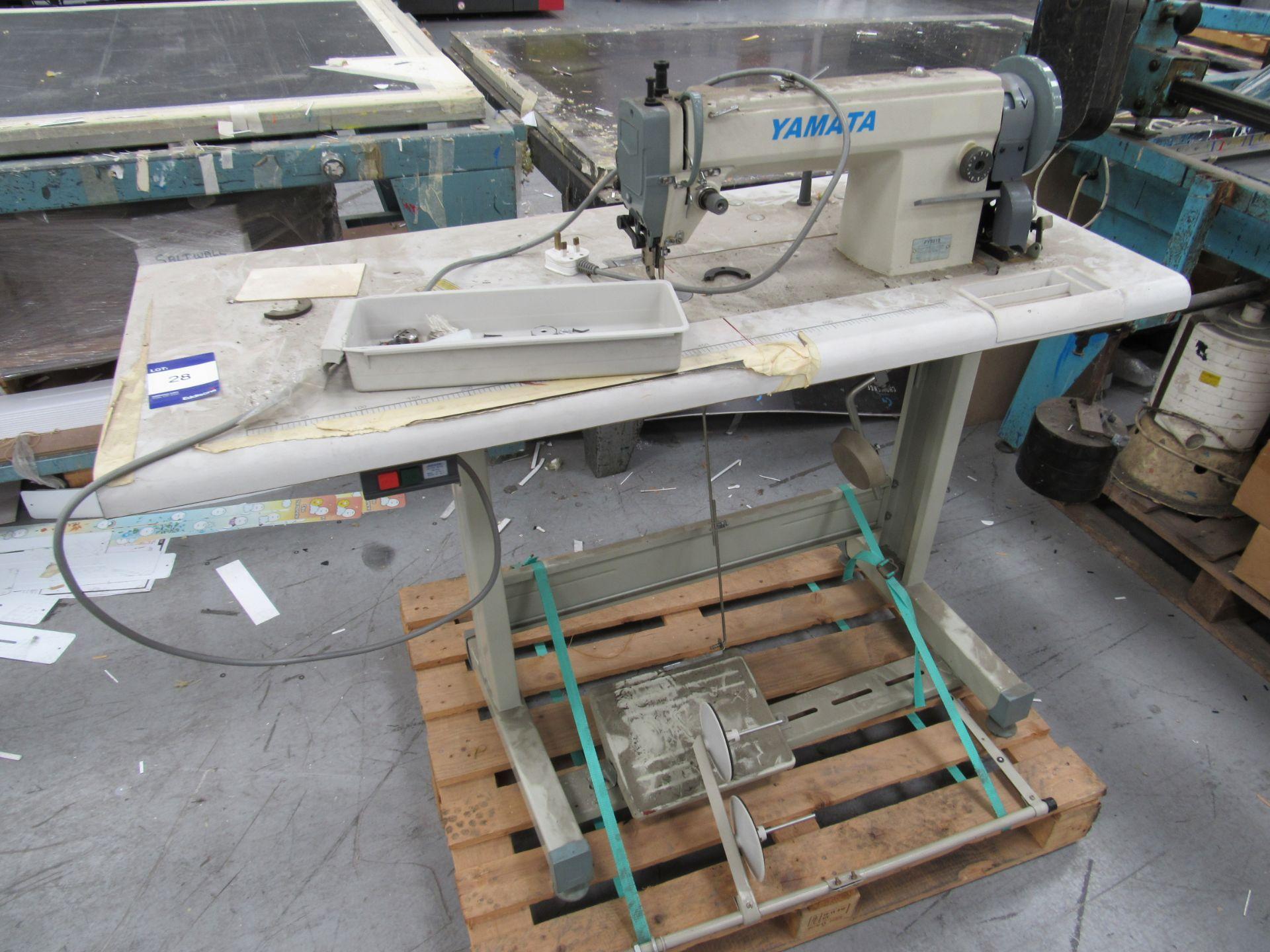 Yamata FY5318 High Speed Lock Stitch Sewing Machine - Image 2 of 4
