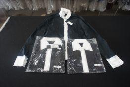 22 x Packaged Jack Jones Diario polo shirts, sizes include 2 x XXL, 5 x XL, 8 x L, 5 x M, 2 x S