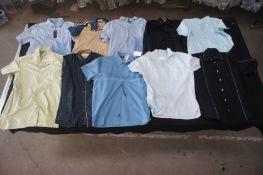 10 x Various designer long / short shirts, M
