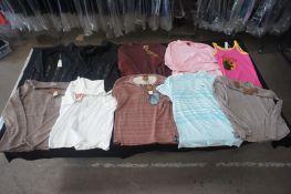 11 x Various designer shirts, jumpers, etc, XXL