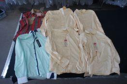 6 x Various designer long sleeve shirts, XXL