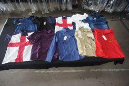 10 x Various long and short sleeve designer shirts, M