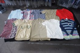 10 x Various designer shirts and jumpers, M