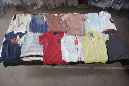 14 x Various designer T-shirts, L
