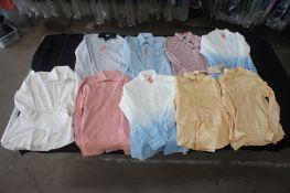 10 x Various designer long sleeve shirts, L