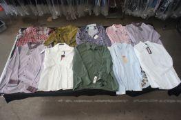 11 x Various designer long / short sleeve shirts, XXL