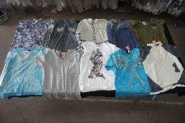 16 x Various designer T-shirts, shirts, jumpers, etc, XXL