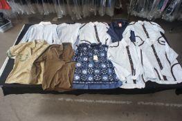 10 x Various designer long / short sleeve shirts, M
