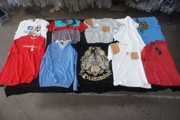 20 x Various designer T-shirts / jumpers, XL