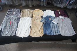 20 x Various long and short sleeve designer shirts, XL