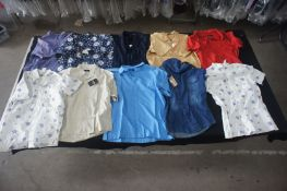 20 x Various designer shirt sleeve shirts, L
