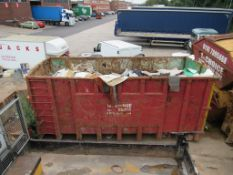 2 - High sided Roll On, Roll Off skips, with contents of carpet (Located at Glenfield Storage