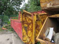 2 - Low sided Roll On, Roll Off skips, with contents of carpet (Located at Glenfield Storage