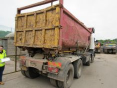 High sided Roll On, Roll Off skip (Located on Vehicle PO14 VKX)