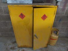 Double door chemical store (no contents)