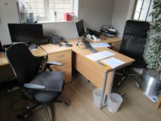 Contents to office (Excluding company books & records and phone system)