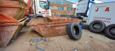 2 Various Skips (contents of skip must be taken away from site by the buyer) - this lot does not
