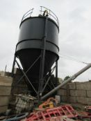 Cement Silo, with Plant Tek Electrical Control Systems controller, and WAM Group Type