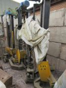 4 – Somers Handling 6.5tonne mobile vehicle lifts, s/n L31521, Test No. SHTN 841 8A, (Spares &