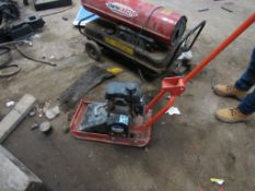 Belle minipack plate compactor with Honda engine