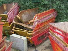 4 – Various skips (Not all skips in photo are 1st Choice and are not included in sale) (Located at