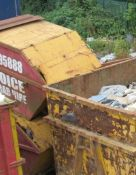 2 – Enclosed skips (Located at Glenfield Storage Solutions)