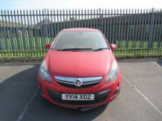 Vauxhall Corsa SE CDTI Ecoflex YY14 XDZ