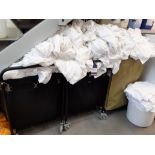 Quantity of Bed Linen to three laundry trolleys