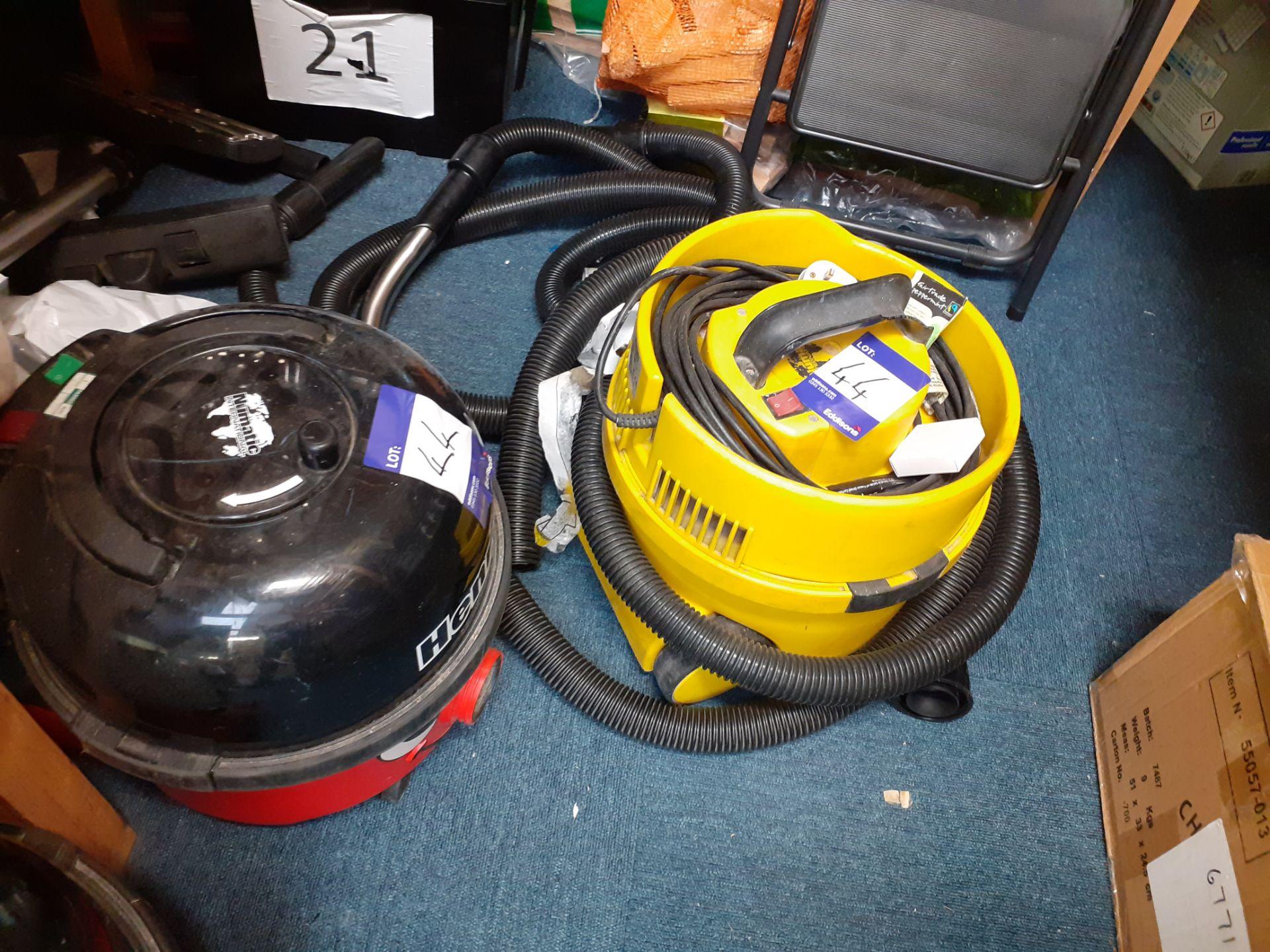 2 Numatic Henry Vacuum Cleaners, Numatic JVP-1801