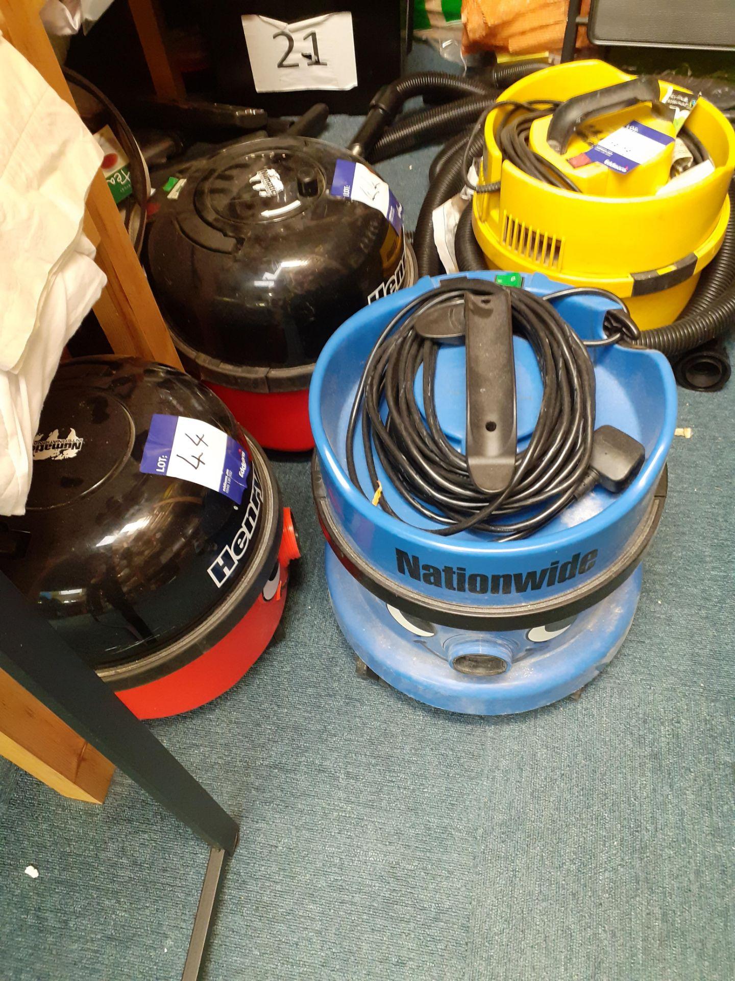 2 Numatic Henry Vacuum Cleaners, Numatic JVP-1801 - Image 3 of 3