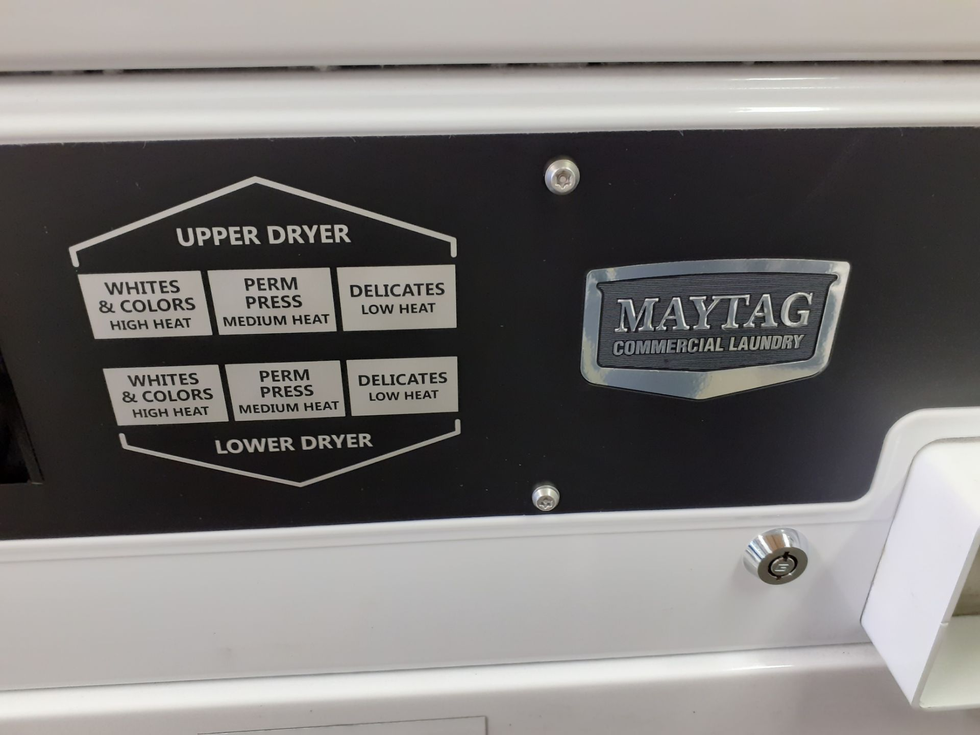 Maytag Two Tier Electric Tumble Dryer, 25 Amp, vented to atmosphere - Image 2 of 2