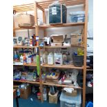 Large Quantity of Cleaning Consumables to timber s