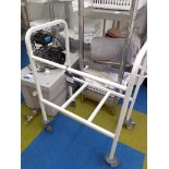 Stainless Steel Shelving Unit, 1600mm and Laundry