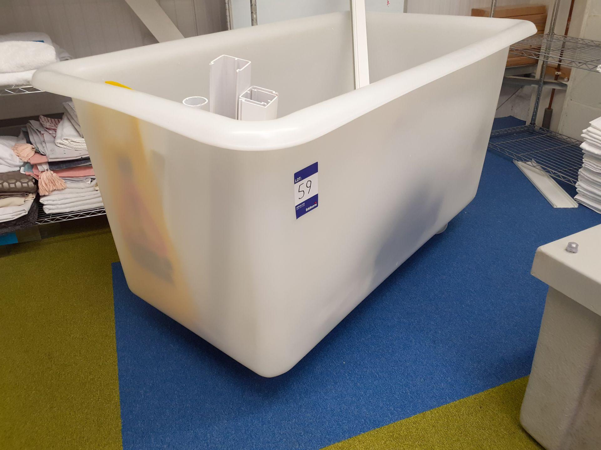 Large Plastic Laundry Bin