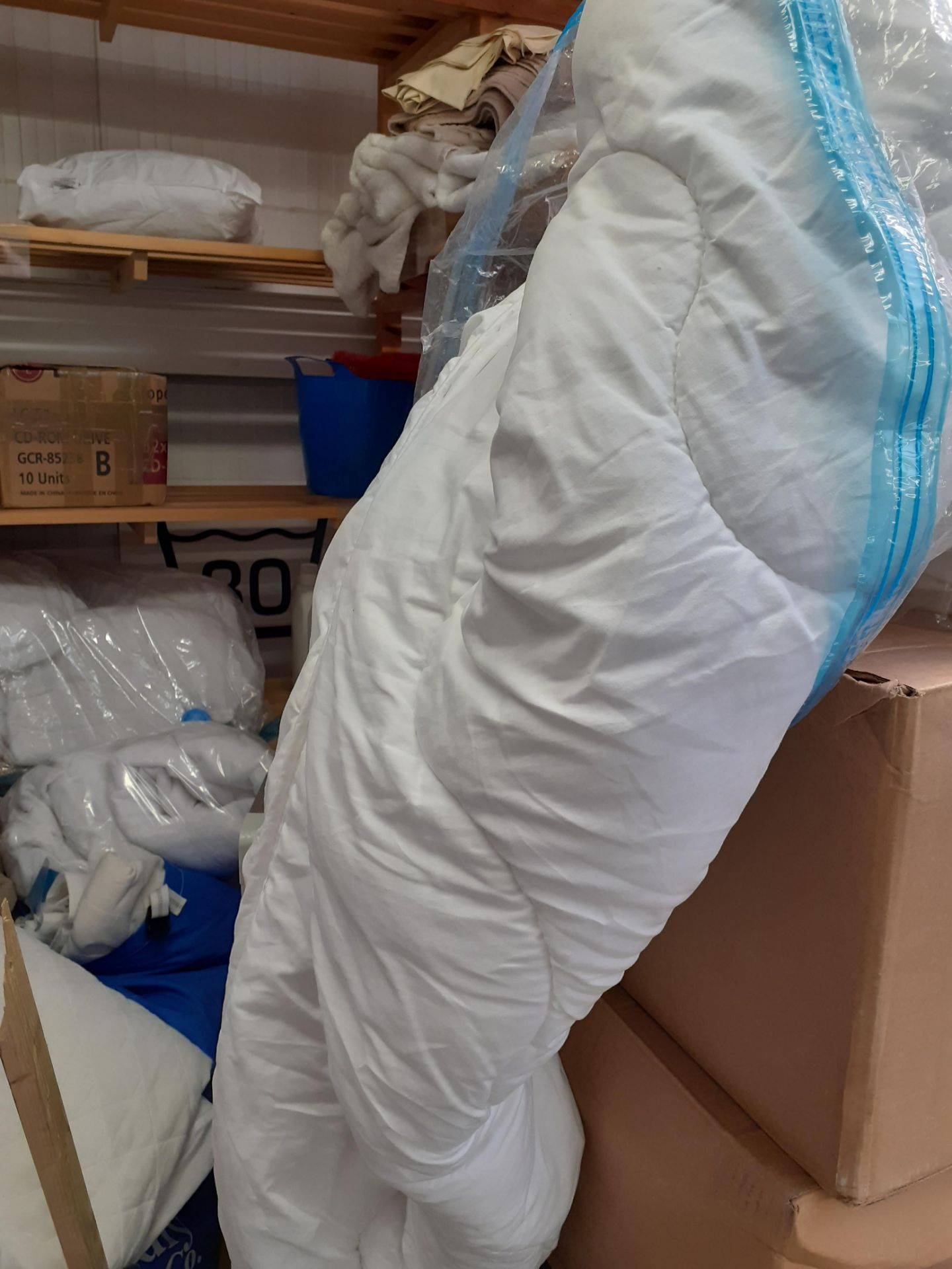 Quantity of Bedding to timber shelving - Image 4 of 4