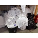 Quantity of Worn Towels and Bedding