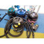 Four Vacuum Cleaner Assemblies