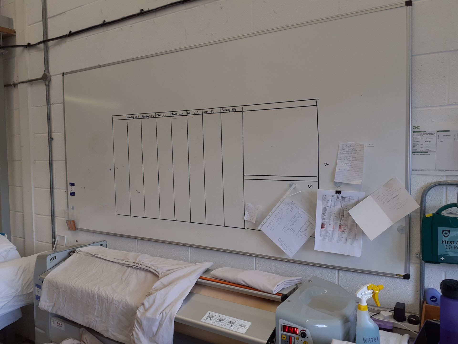 Two Whiteboards - Image 2 of 2